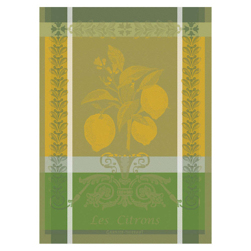 Domaine Lumiere Garnier-Thiebaut Citron Zeste Tea Towel