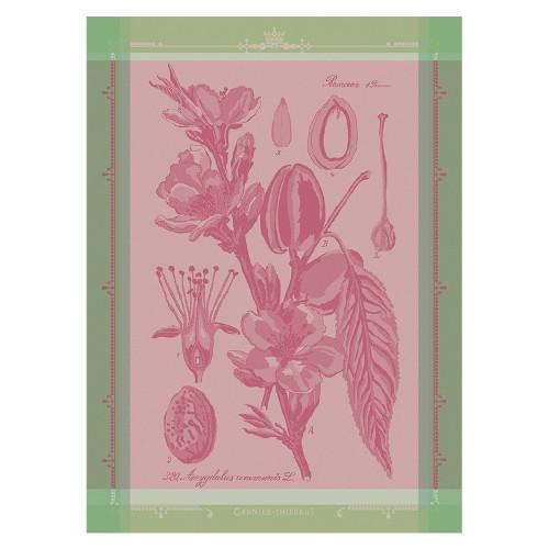 Domaine Lumiere Garnier-Thiebaut Fleurs D'Amandiere Rose Tea Towel