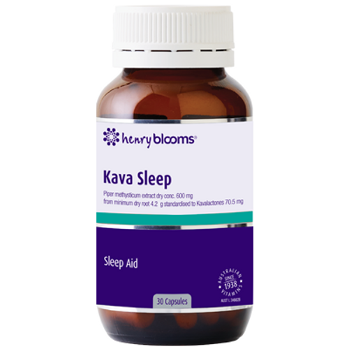 Henry Blooms Kava Sleep 30 Capsules