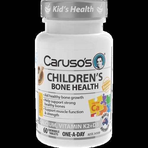 Caruso's Children's Bone Health 60 Chewable Tablets