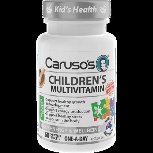 Caruso's Children's Multivitamin 60 Chewable Tablets