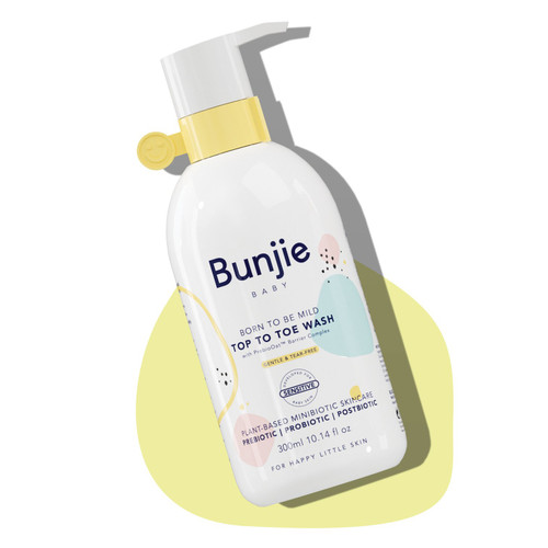 Bunjie Born To Be Mild Top To Toe Wash 300ml