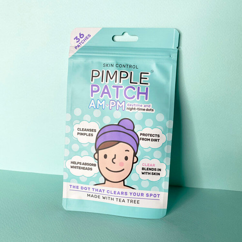 Skin Control Pimple Patches AM + PM 36 Patches