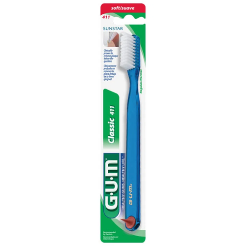 Classic 411 Soft Toothbrush (5 Colours)