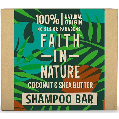 Coconut & Shea Butter Shampoo Bar 85g