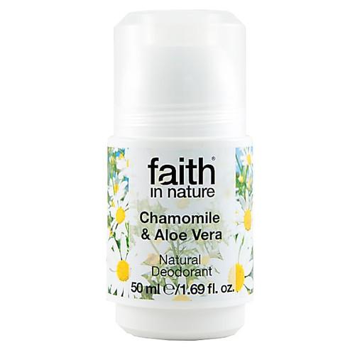 Faith In Nature Roll-on Deodorant Chamomile & Aloe Vera 50g