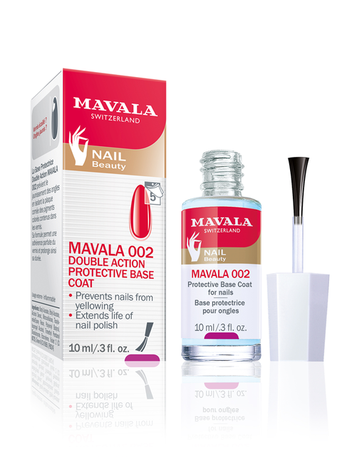 Mavala 002 Protect Base Coat 10ml Packaging & Product