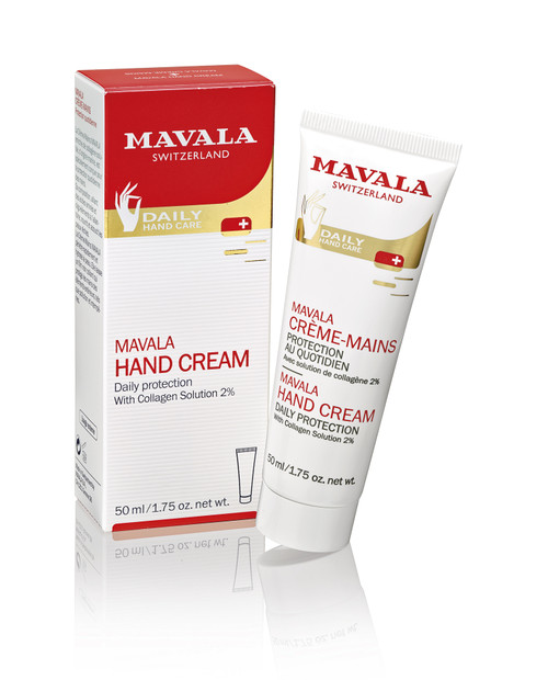 Mavala Hand Cream 50ml Packaging & Product