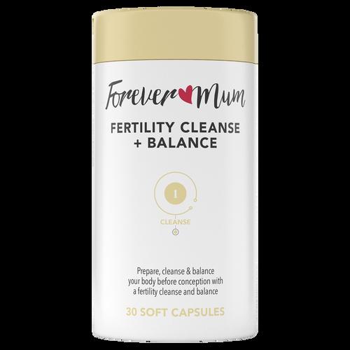 Fertility Cleanse + Balance 30 Soft Capsules