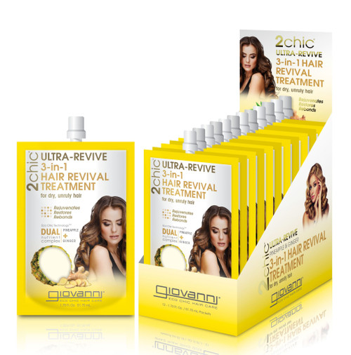2chic Ultra-Revive 3-in-1 Hair Revival Treatment 51ml