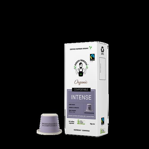 Green Barista Intense Compostable Nespresso Pods