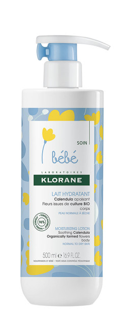 Klorane Baby Moisturising Lotion 500ml