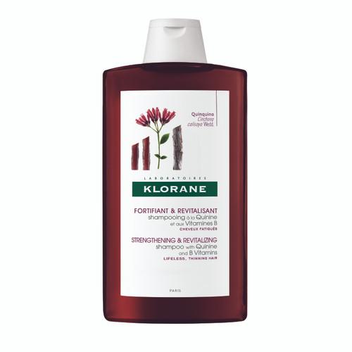 Klorane Shampoo with Quinne and B Vitamins 400ml