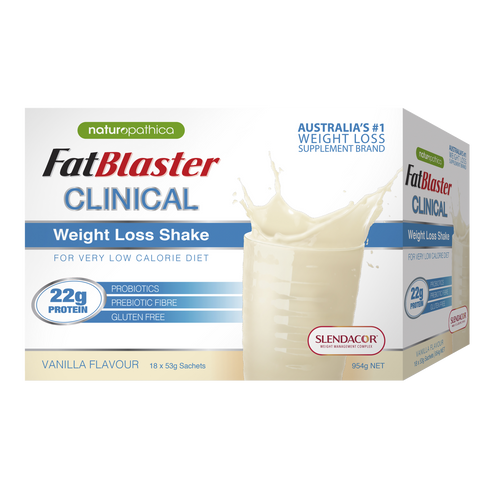 Clinical Weight Loss Shake Vanilla Flavour 954g 18 Pack