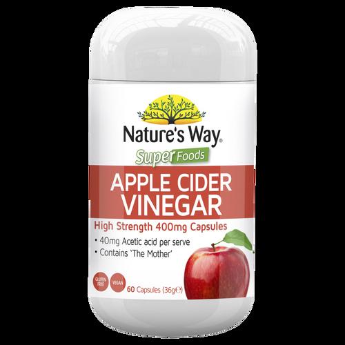 Superfoods Apple Cider Vinegar 400mg 60 capsules