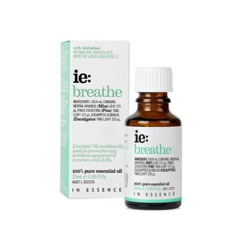 In Essence ie Breathe Essential Oil Blend 25ml