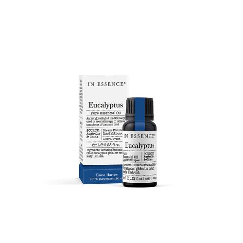 In Essence Eucalyptus Pure Essential Oil 8ml
