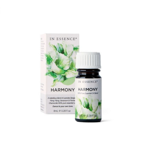 In Essence Harmony Pure Essential Oil Blend 8ml