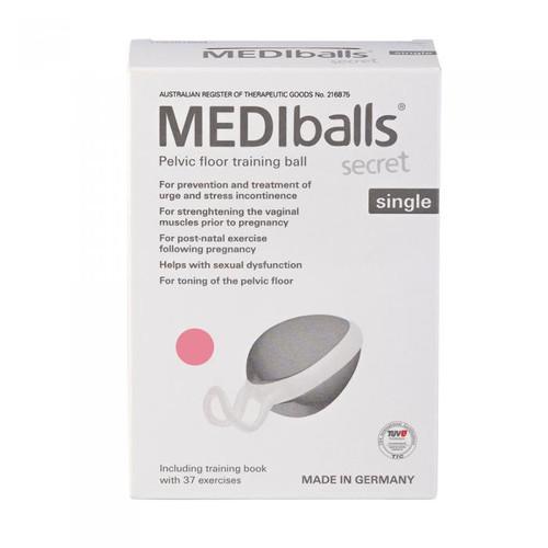 Pelvi MEDIballs Secret (Pelvic Floor Training Balls) Single - Rose
