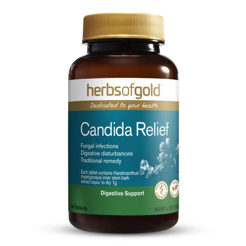 Candida Relief 60 Tablets