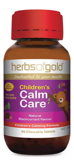 Children's Calm Care 60 Chewable Tablets