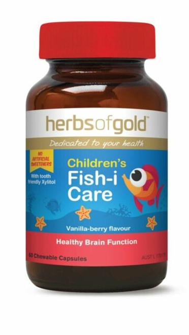 Children's Fish-i Care 60 Chewable Tablets