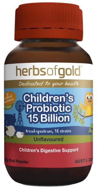 Children's Probiotic 15 Billion 50g Oral Powder