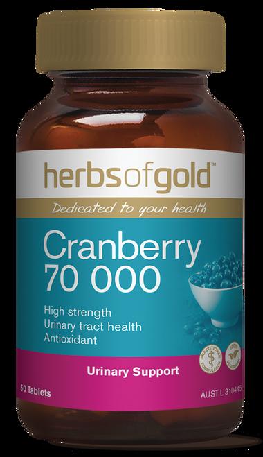 Cranberry 70000 50 Tablets