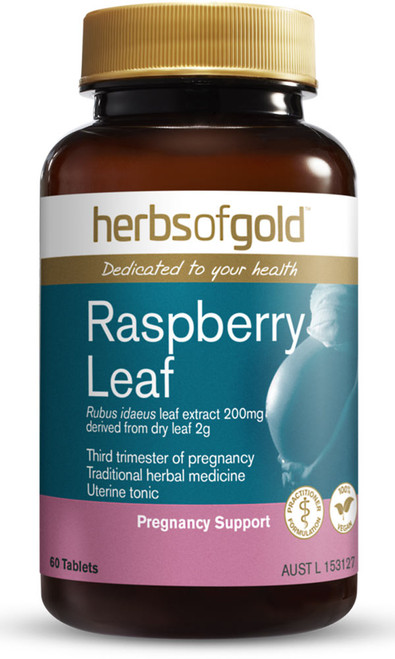 Raspberry Leaf 60 Tablets