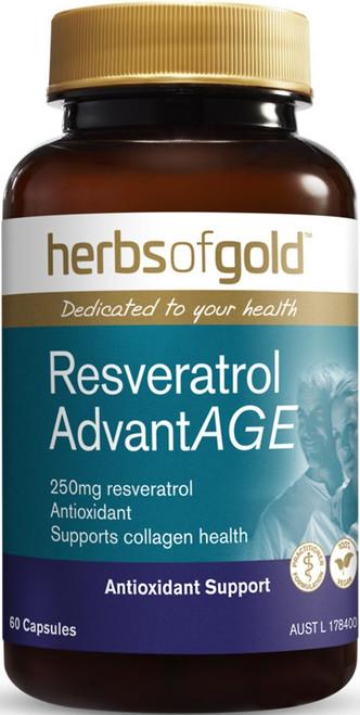 Resveratrol AdvantAGE 60 Capsules