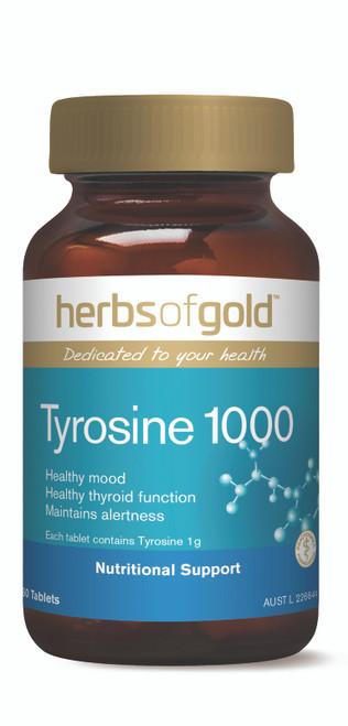 Tyrosine 1000 60 Tablets