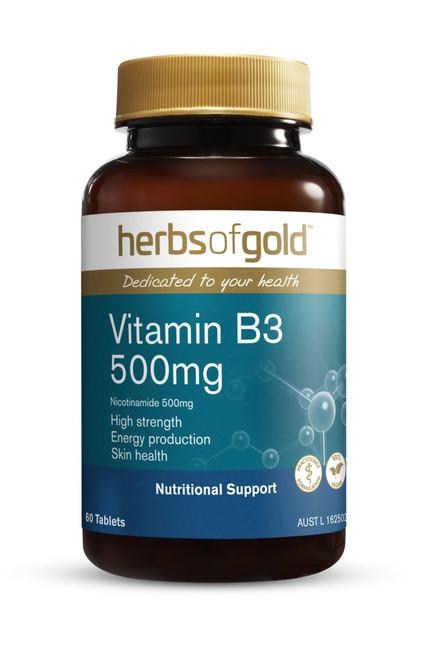 Vitamin B3 500mg 50 Tablets