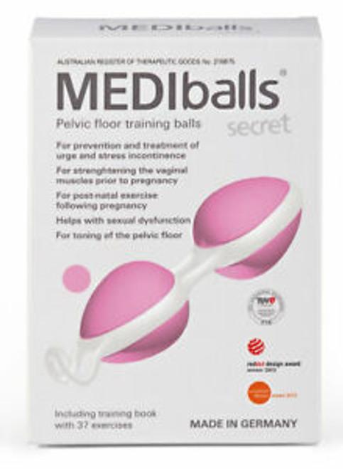 MEDIballs Secret Double Pelvic Floor Training Balls Rose