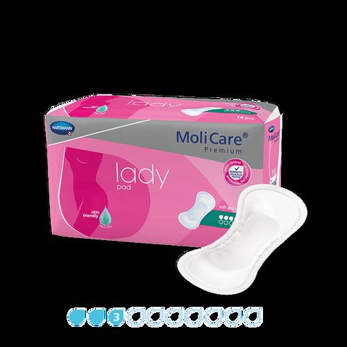 MoliCare Premium Lady Pads 3 Drops 14 Pack