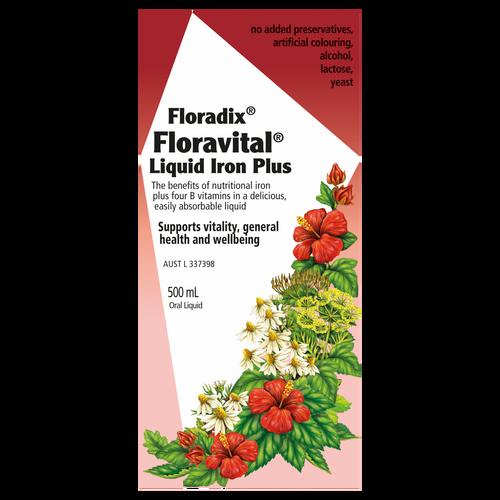 Floravital Liquid Iron Plus 500mL