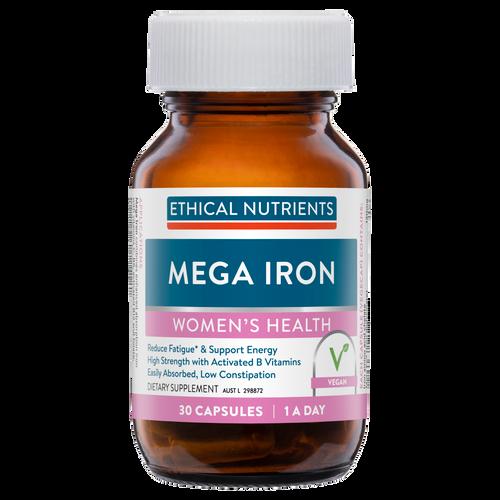 Ethical Nutrients Mega Iron 30 Capsules
