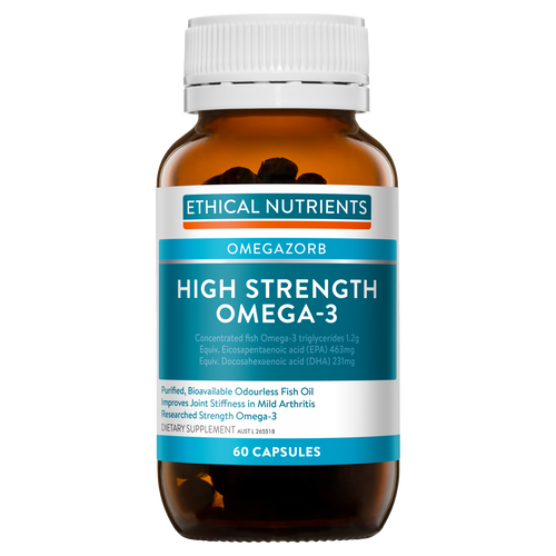 Ethical Nutrients High Strength Omega-3 60 Capsules