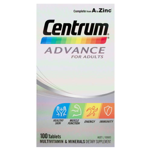 Advance For Adults 100 Tablets