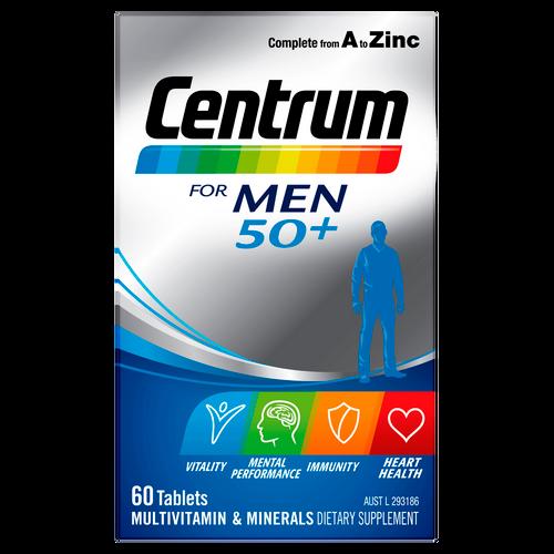 For Men 50+ 60 Tablets