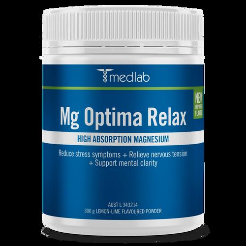 Medlab MG Optima Relax - Lemon Lime 300g