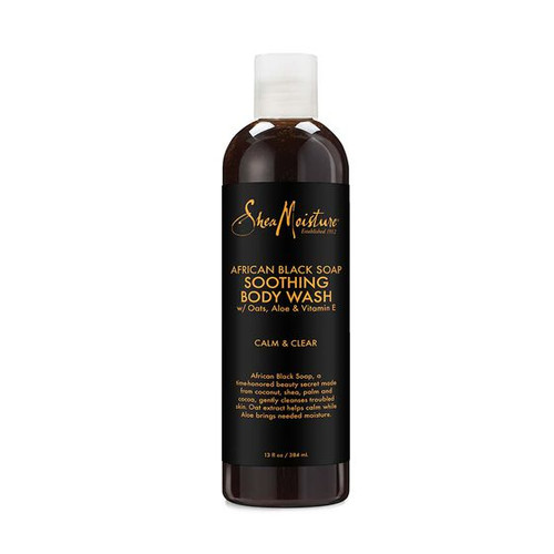 African Black Soap Soothing Body Wash 384ml