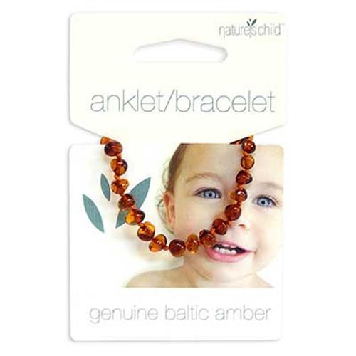 Nature's Child Amber Anklet/Bracelet for Babies