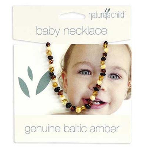 Nature's Child Amber Necklace for Babies
