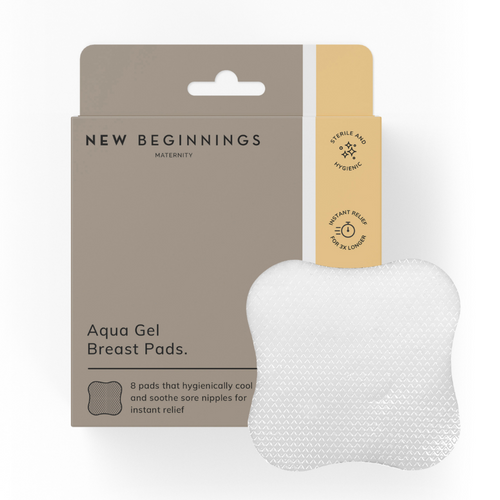New Beginnings Aqua Gel Breast Pads 16 Pack