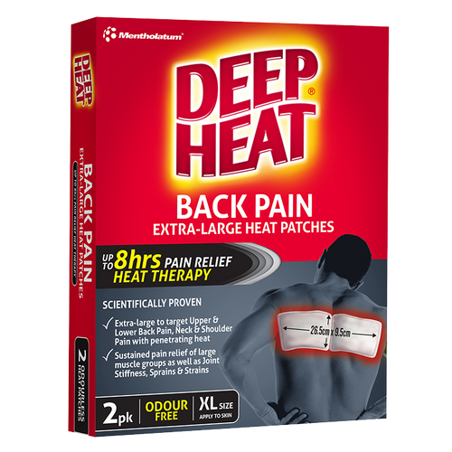Back Pain Extra-Large Heat Patches