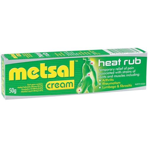 Heat Rub Cream 50g