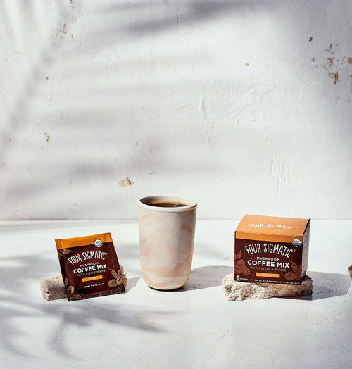 Four Sigmatic Mushroom Coffee with Lion's Mane 10 Packets