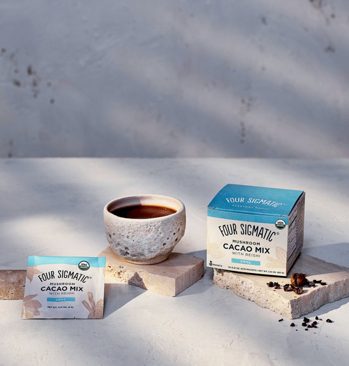 Four Sigmatic Mushroom Hot Cacao with Reishi 10 Packets