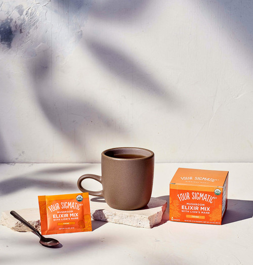 Four Sigmatic Mushroom Elixir Mix with Lion's Mane 20 Packets