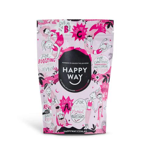 Happy Way BCAA Powder - Raspberry 300g